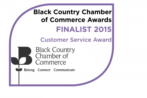 Customer Service Award Finalist Logo 2015